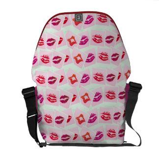 Lovey Dovey Smooches Messenger Bag