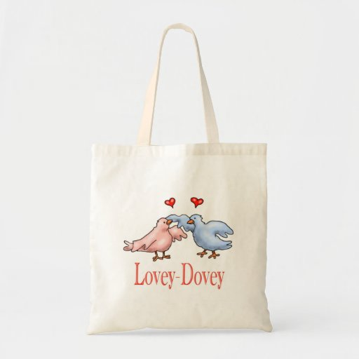 Lovey Dovey Valentines Day Tote-bag