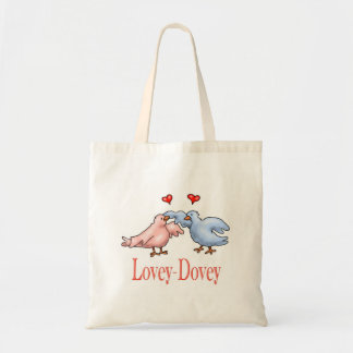 Lovey Dovey Valentines Day Tote-bag Budget Tote Bag