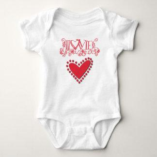 lovie baby bodysuit
