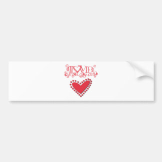 lovie bumper sticker