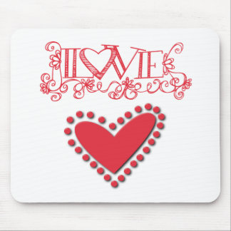 lovie mouse pad