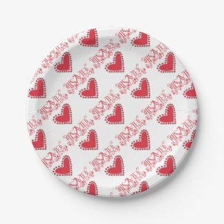 lovie paper plate