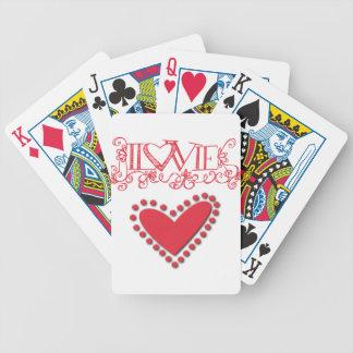 lovie poker deck
