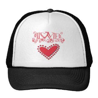 lovie trucker hat