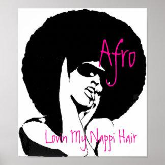 LOVIN MY NAPPI HAIR POSTER
