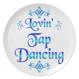 Lovin Tap Dancing Dinner Plates