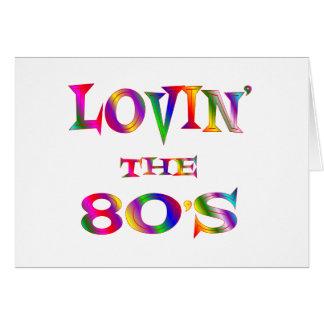 Lovin the 80s card