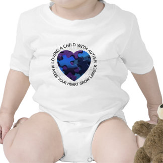 Loving a Child with Autism Bodysuits