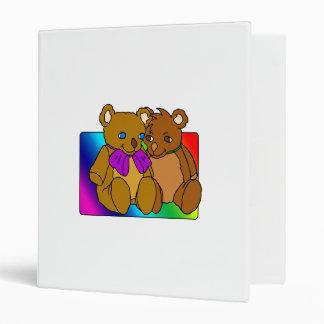 Loving Bears Vinyl Binder