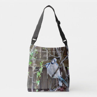Loving bluejays tote bag