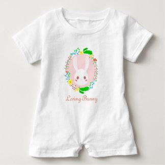 Loving Bunny Baby Romper