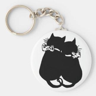 Loving Cats Keychain