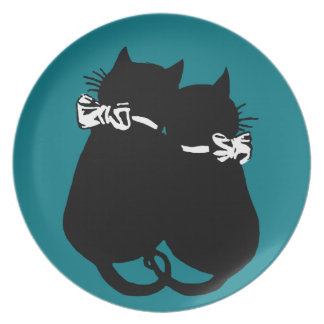 Loving Cats Plate