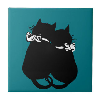 Loving Cats Tile