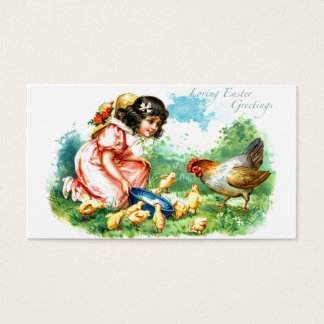 Loving Easter Greetings Business Card