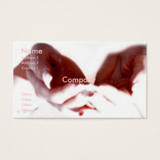 Loving Hands Business Card