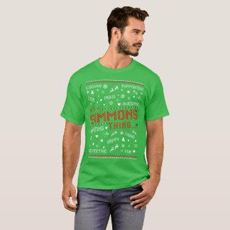 Loving Happy Simmons Christmas Ugly Sweater Tshirt