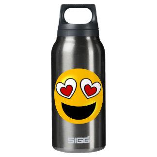 Loving Heart Emoji Insulated Water Bottle