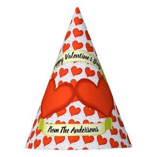 Loving Hearts Party Hats