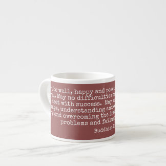 Loving-Kindness Buddhist Metta Espresso Cup