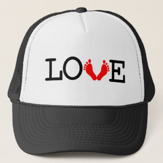 Loving Me Some - Red Trucker Hat