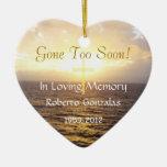 Loving Memory Memorial-Holy Cross Ornament