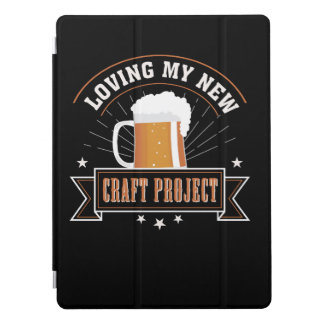 Loving New Project Craft Beer Drinking iPad Pro Cover