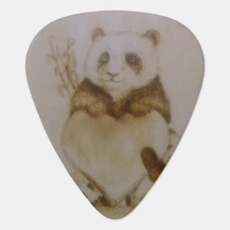 Loving Pandas Guitar Pick