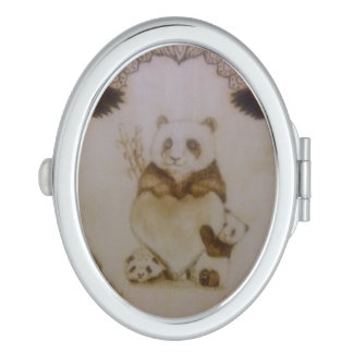 Loving Pandas Makeup Mirror