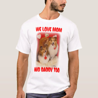 LOVING SHELTIES T-Shirt