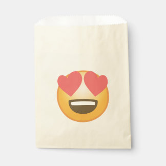 Loving Smile Emoji Favour Bag