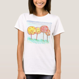 Loving Trees Ladies Spaghetti Top (Fitted)