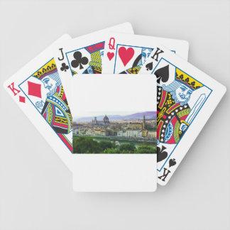 Loving Tuscany! Photo Print Bicycle Playing Cards
