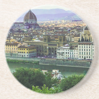 Loving Tuscany! Photo Print Coaster