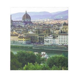 Loving Tuscany! Photo Print Notepad