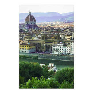 Loving Tuscany! Photo Print Stationery