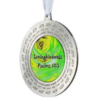 Lovingkindness Psalms Chapter 103 Pewter Ornament