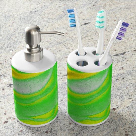 Lovingkindness Psalms Chapter 103 Soap Dispenser And Toothbrush Holder