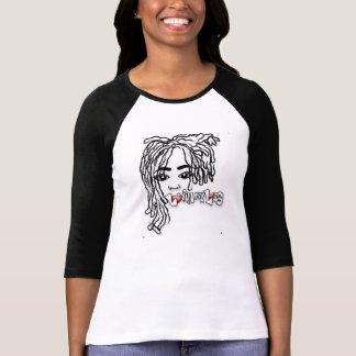 Lovinmylocs with poem 3/4 sleeve t-shirt