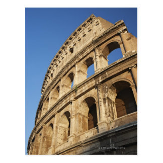 Low angle view of Colosseum Postcard