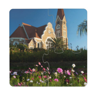 Low Angle View Of The Christ Church Puzzle Coaster