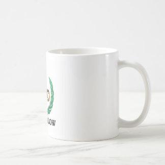 low blow olive coffee mug