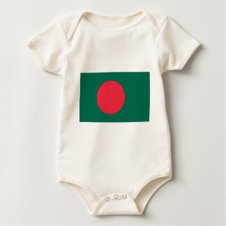 Low Cost! Bangladesh Flag Baby Bodysuit