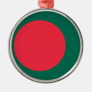 Low Cost! Bangladesh Flag Metal Ornament