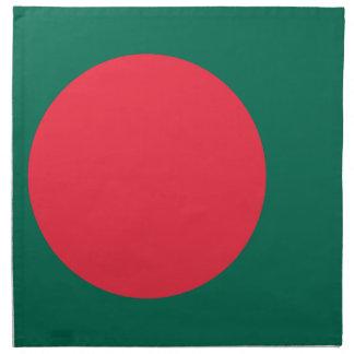 Low Cost! Bangladesh Flag Napkin