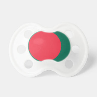 Low Cost! Bangladesh Flag Pacifier