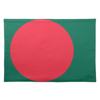 Low Cost! Bangladesh Flag Placemat