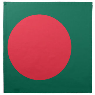 Low Cost! Bangladesh Flag Printed Napkin