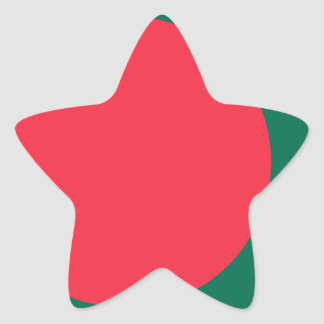 Low Cost! Bangladesh Flag Star Sticker